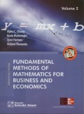 Fundamental Methods Of Mathematics For Business And Economics : Indonesian Edition / Volume 2